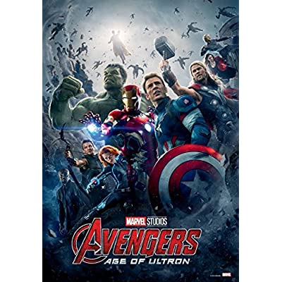 1000Piece Jigsaw Puzzle Marvel Avengers Age of Ultron 10th Edition II: Toys & Games