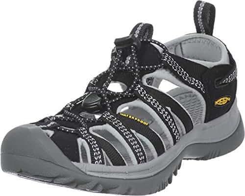 Keen Women's Whisper Sport Sandal Blk/Gry 6.5 M US