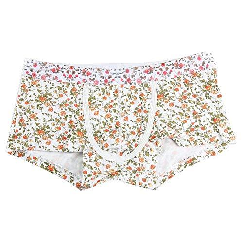 Di Pugilato Pantaloncini Mode Arancia Uomo Fashion Mutande Underpants Printed Da Marca Traspirante Vintage E Confortevole zzIAw