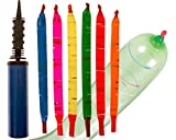 Impresa Products 100-Pack of Rocket Balloons with Pump - Party Pack - Watch These Balloons Rocket to the Sky! By IMPRESA
