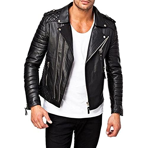 Quilted Leather Jacket Amazon