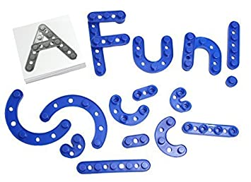 build a letters and numbers alphabet construction set with snap