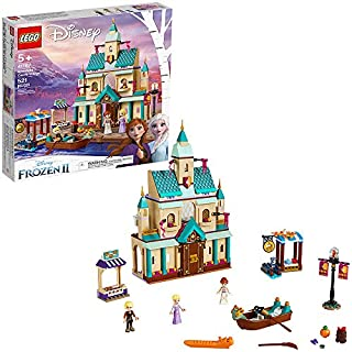 LEGO Disney Frozen II Arendelle Castle Village 41167 Toy Castle Building Set with Popular Frozen Characters for Imaginative Play (521 Pieces)