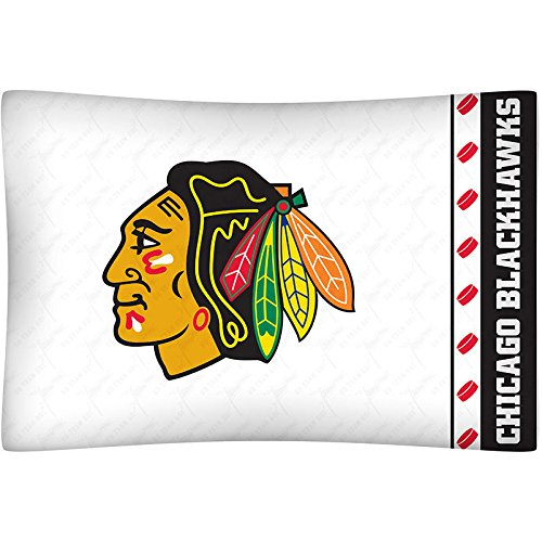 Sports Coverage Chicago Blackhawks Standard Pillowcase