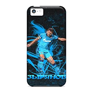 New Team ProMall Super Strong Zenit Midfielder Konstantin Zyryanov Tpu Case Cover For Iphone 5c