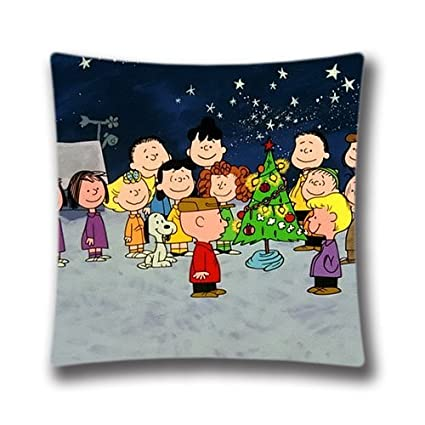 christmas decorative pillow cover xmas stuff for charlie brown christmas gif square pillow case unique - Stuff For Christmas