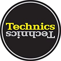 Technics Slipmat 60659 Duplex 4:Slvr/Y Mirror on Black