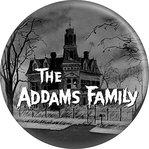 Addams Family - Logo with House - 2.25
