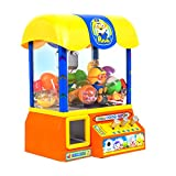 [Ginaworld]Pororo Claw Candy Toy Grabber Crane Machine with Pororo vioce Sound and songs + candy 10pcs + chupachups 10pcs + Toy Sanitizer 30ml