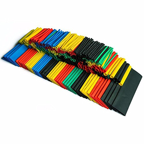 Flame Gas Cap Inserts (Efanr 328 Pieces/pack Heat Shrinkable Wire Wrap Tube Assortment 2:1 Shrink Ratio Adhesive Lined Heat Shrink Kit Electrical Insulation Cable Tubing Connectors Sleeves 5 Colors)