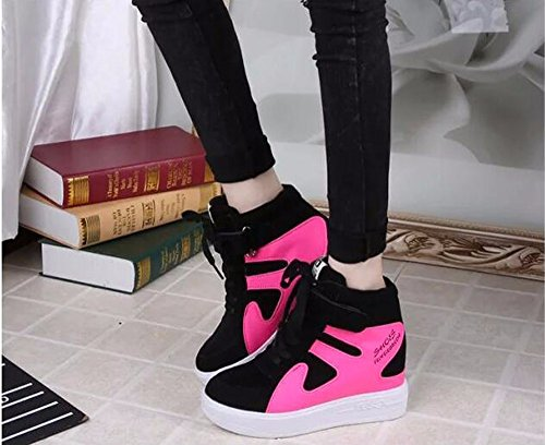 KHSKX-Más Zapatos De Mujer Coreano De Ocio Deportes Transpirable Y Suela Gruesa Mujeres Zapatos Zapatos Estudiantes Treinta Y Seis Thirty-eight