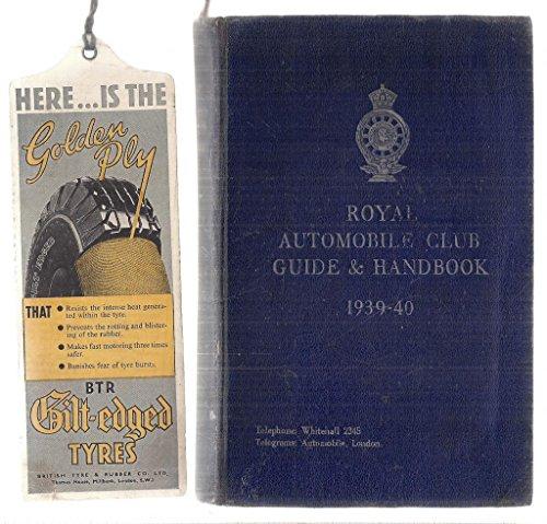 (Royal Automobile Club Guide and Handbook)