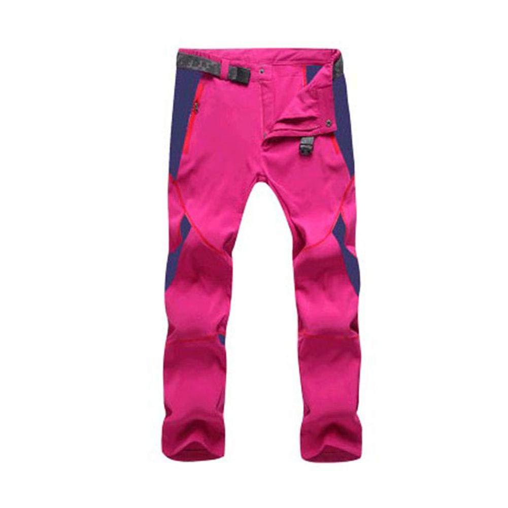 Sroomcla Pantalones Deportivos para montañismo al Aire Libre Pantalones de Secado rápido Verano para Mujeres Figura para abrazar Alpinismo Pantalones