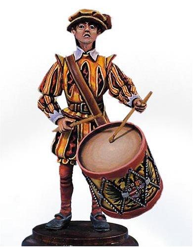 アンドレアミニチュアズ S2-F6 Infantry Drummer