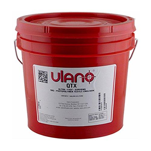 (ULANO QTX (1 QT) Emulsion for Plastisol Oil Based Inks Screen Printing)
