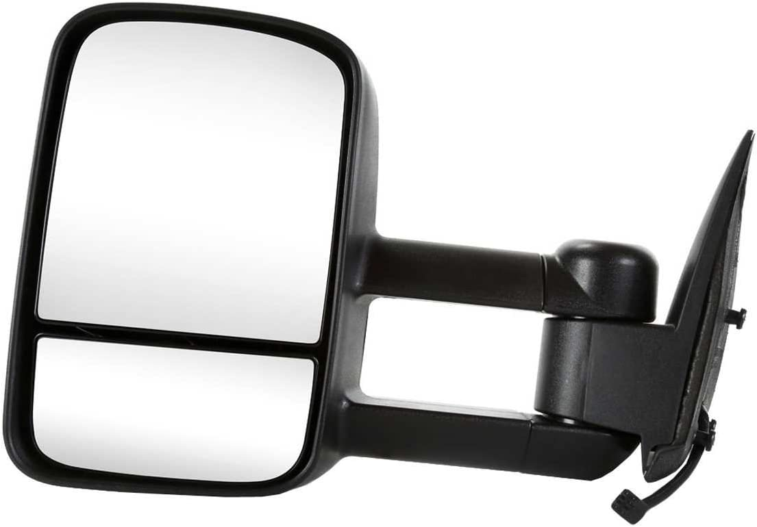Auto Shack KAPGM1320411 Power Heated Manual Towing Drivers Side View Mirror