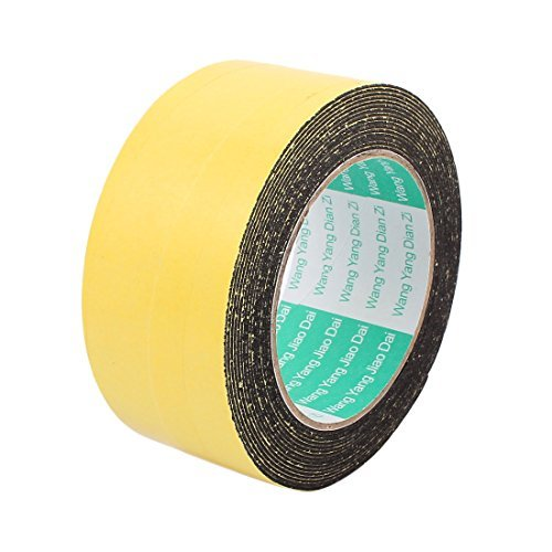 EbuyChX 50mm x 1mm Single Sided Self Adhesive Shockproof Sponge Foam Tape 5M Length