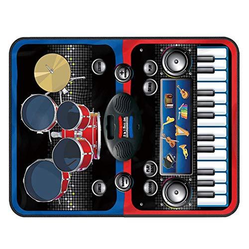 garyone-Game Dance mat Piano mat Music Keyboard Playmat Gift for Kids and Adult by garyone (Image #1)