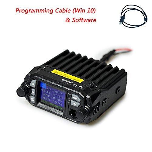 QYT KT-8900D (Upgraded 2nd Gen.) Mobile Transceiver Dual Band QUAD Standby VHF/UHF 136-174/400-480MHz Mini Car Radio Amateur (HAM) Radio (Radio 2m Mobile)