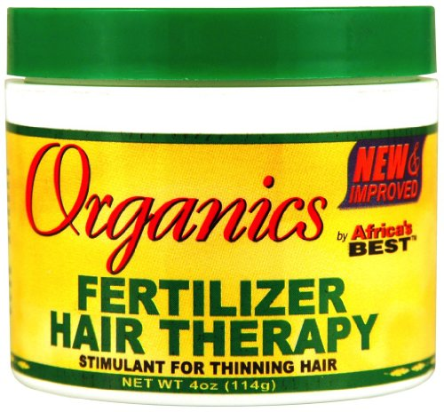 Africa's Best Organics Fertilizer Hair Therapy 3.5 oz. (P...