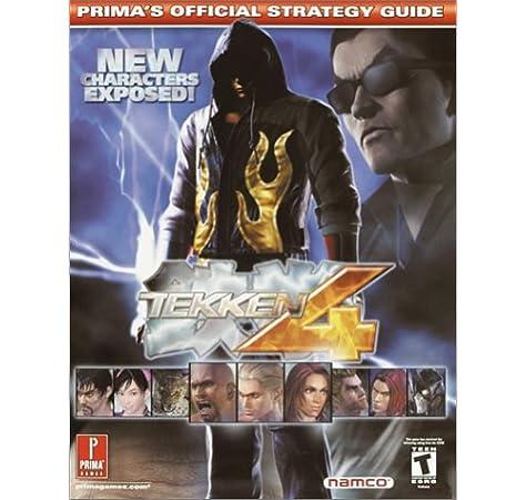 Tekken 4 Prima S Official Strategy Guide Prima Development
