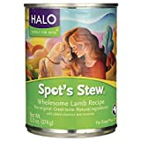 Halo - Purely For Pets Holistic Lamb Recipe for Adult Dog 13.2 oz (374 g) Can