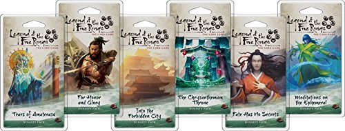Legend of the Five Rings LCG: Dynasty Pack Set of 6 by FFG