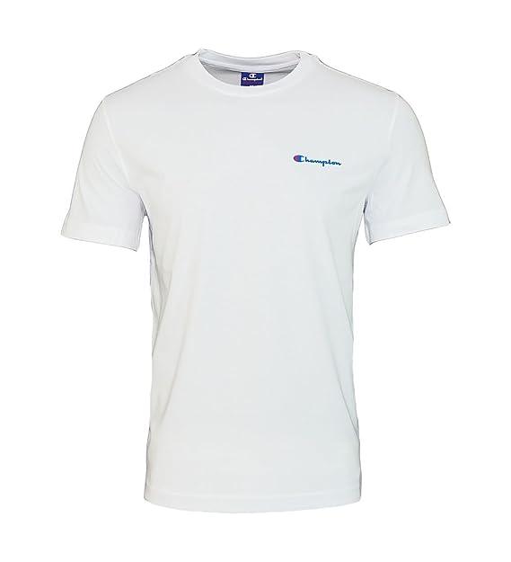 Champion Crew - Camiseta - Camiseta para Hombre de Ocio. Camiseta Gris 209495 S17 357: Amazon.es: Ropa y accesorios