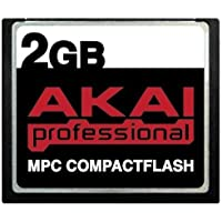 2GB Akai MPC CompactFlash CF Memory Card for MPC500, MPC1000, MPC2500, MPC5000