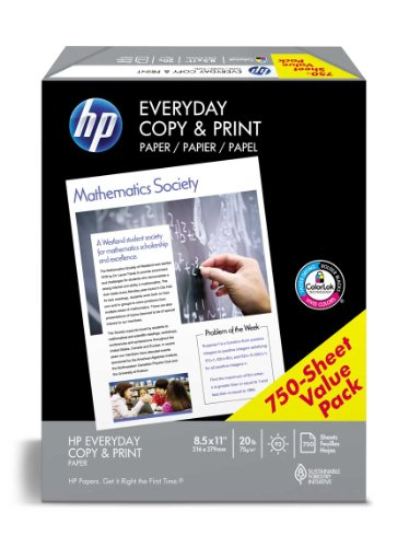HP Paper, Everyday Copy and Print Poly Wrap