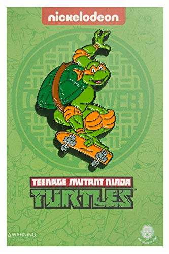 - Skateboarding Mikey - TMNT Collectible Pin
