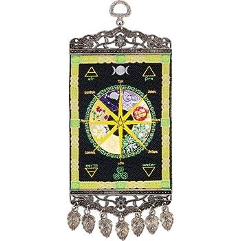 Amazon Com Cotton Single Tapestry Pagan Calendar Home