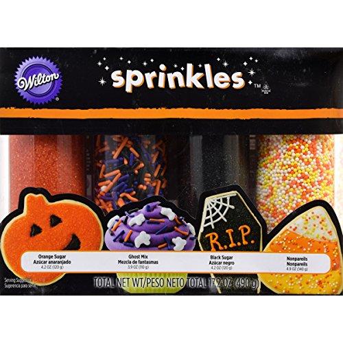 Wilton 4-Pack Halloween Sprinkles Set -