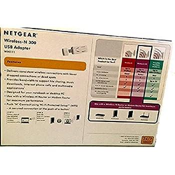 Install Netgear USB Wireless Adapter WN111V2 in windows8