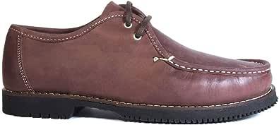 Zapatos náuticos Tipo Apache Unisex Wallabee Cordón Burdeos