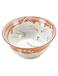 Buy 2X Japanese Porcelain Donburi Rice Bowls Pink Cat Ky56/79 S-2482X2 lowestprice
