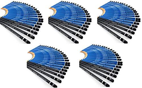 Gift Tin of 24 Assorted Grades 100 G24 S Staedtler Mars Lumograph Drawing Pencils