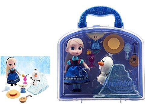 Disney Frozen Animators Collection Elsa Mini Doll Playset