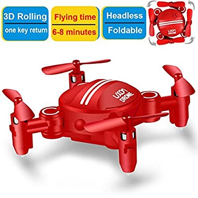 LUXON Drone for Kids Headless Mini RC Quadcopters Foldable by ZH Electrinic Co ., Ltd