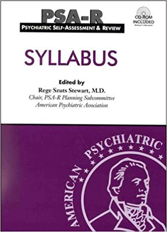 Book Psychiatric Self-Assessment and Review (PSA-R)