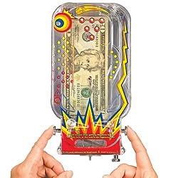 (Set of 6) Retro Pinball Money Machine Puzzles - Fun Challenging Gift Holder Model: from T.E. Brangs
