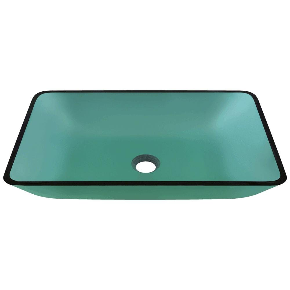 MR Direct 640 Emerald Coloured Glass Vessel Bathroom Sink by MR Direct B00FL2X1M6  エメラルド