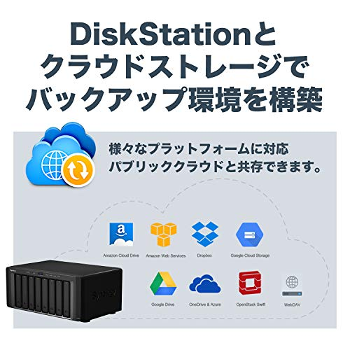 Synology 8 bay NAS DiskStation DS1817 (Diskless) by Synology (Image #4)