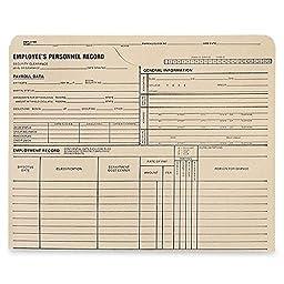QUA70010 - Quality Park Employee\'s Personnel Record Jackets