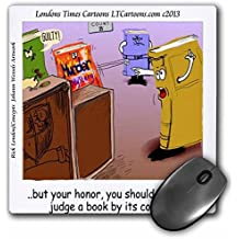 Rick London - Londons Times Cartoons - Lawyers and Legal - Unsolved Murder Mystery - LTCartoons - A Rick London Brand - MousePad (mp_160350_1)