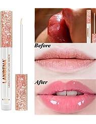 Fanmin LANBENA Lips Care Serum,Moisturizing and Plumping Lips Creating Sexy Doodle Lips, Reduce Fine Lines,Beauty Lipstick