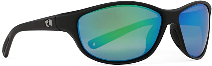 Rheos Bahias Small Sport Style Floating Polarized Sunglasses | 100% UV Protection | Ideal for Fishing and Boating