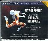 Stravinsky: Rite of Spring; Britten: Four Sea Interludes; Walton: Portsmouth Point Overture; Mussorgsky: Khovanshchina Prelude; Lyadov: Kikimora