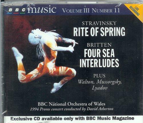 Stravinsky: Rite of Spring; Britten: Four Sea Interludes; Walton: Portsmouth Point Overture; Mussorgsky: Khovanshchina Prelude; Lyadov: - Bbc Sunglasses