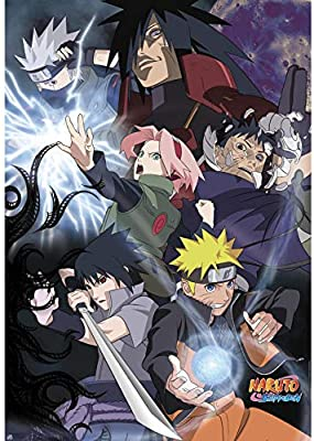 ABYstyle - Poster Naruto Shippuden - Groupe Guerre Ninja 98x68cm - 3700789215424